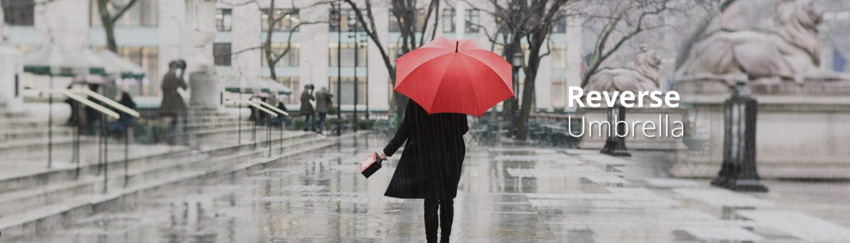 Reversible Umbrellas